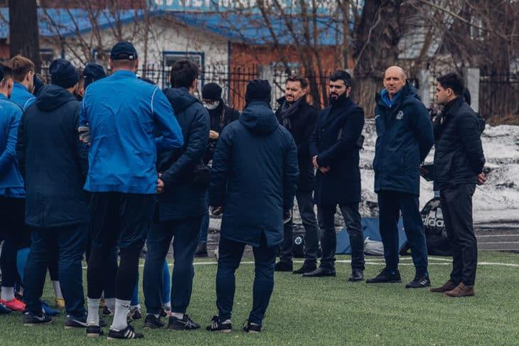 ФК «Тверь» провел открытую для прессы тренировку