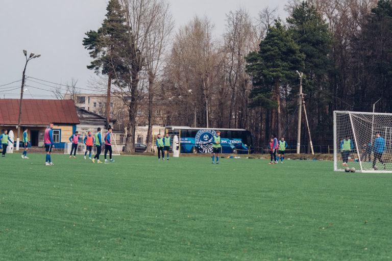 ФК «Тверь» переехал на новое тренировочное поле