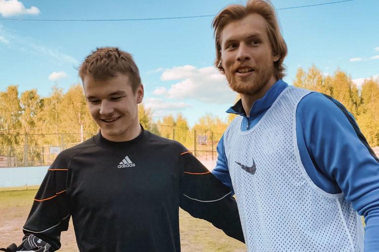 ФК «Тверь» сыграл дружеский матч с воспитанниками Митинского детского дома